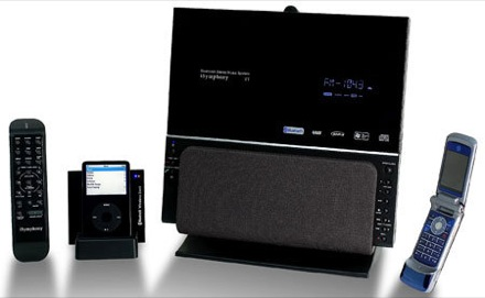 La minicadena Bluetooth V1BLUEe de iSymphony