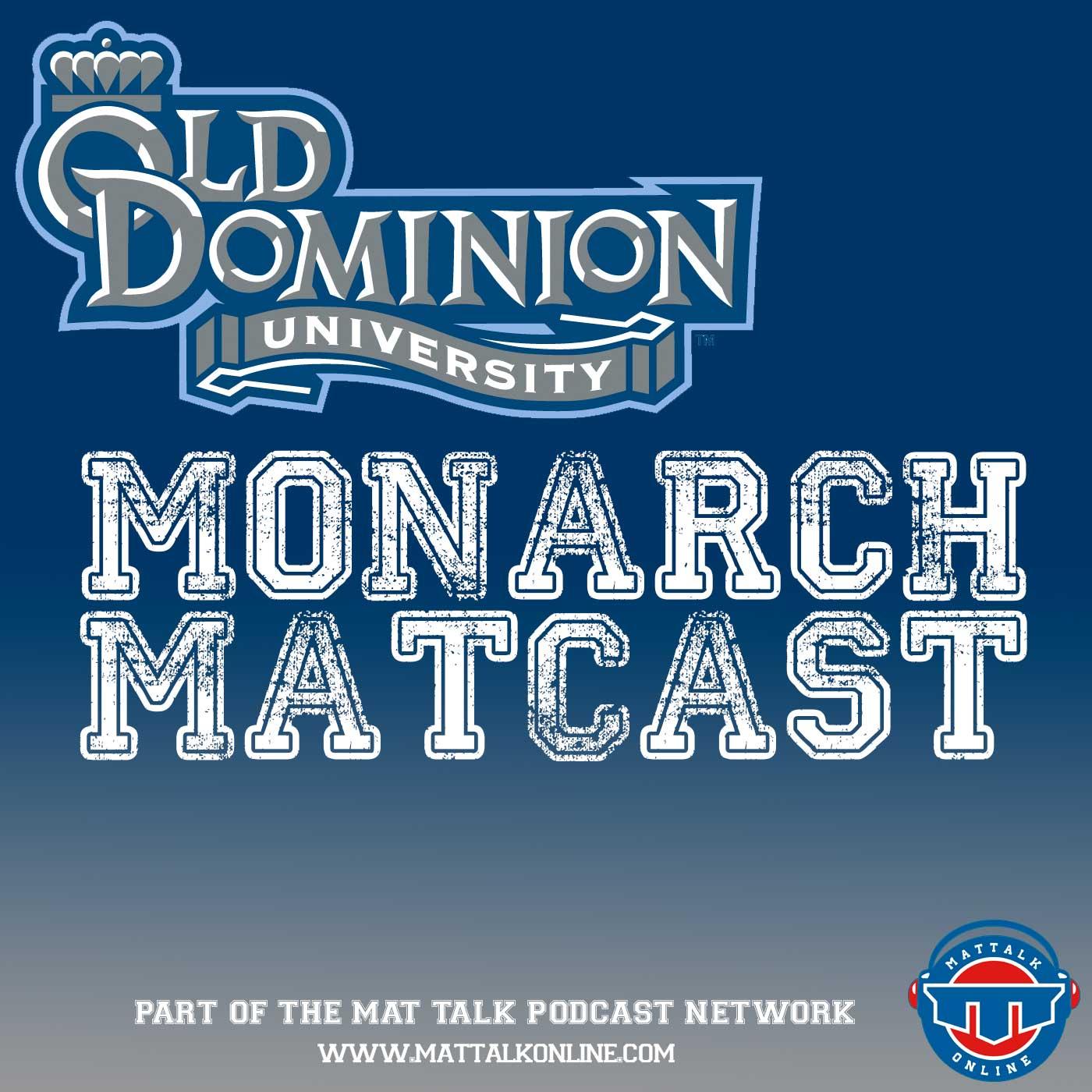 ODU Wrestling Monarch Matcast show art