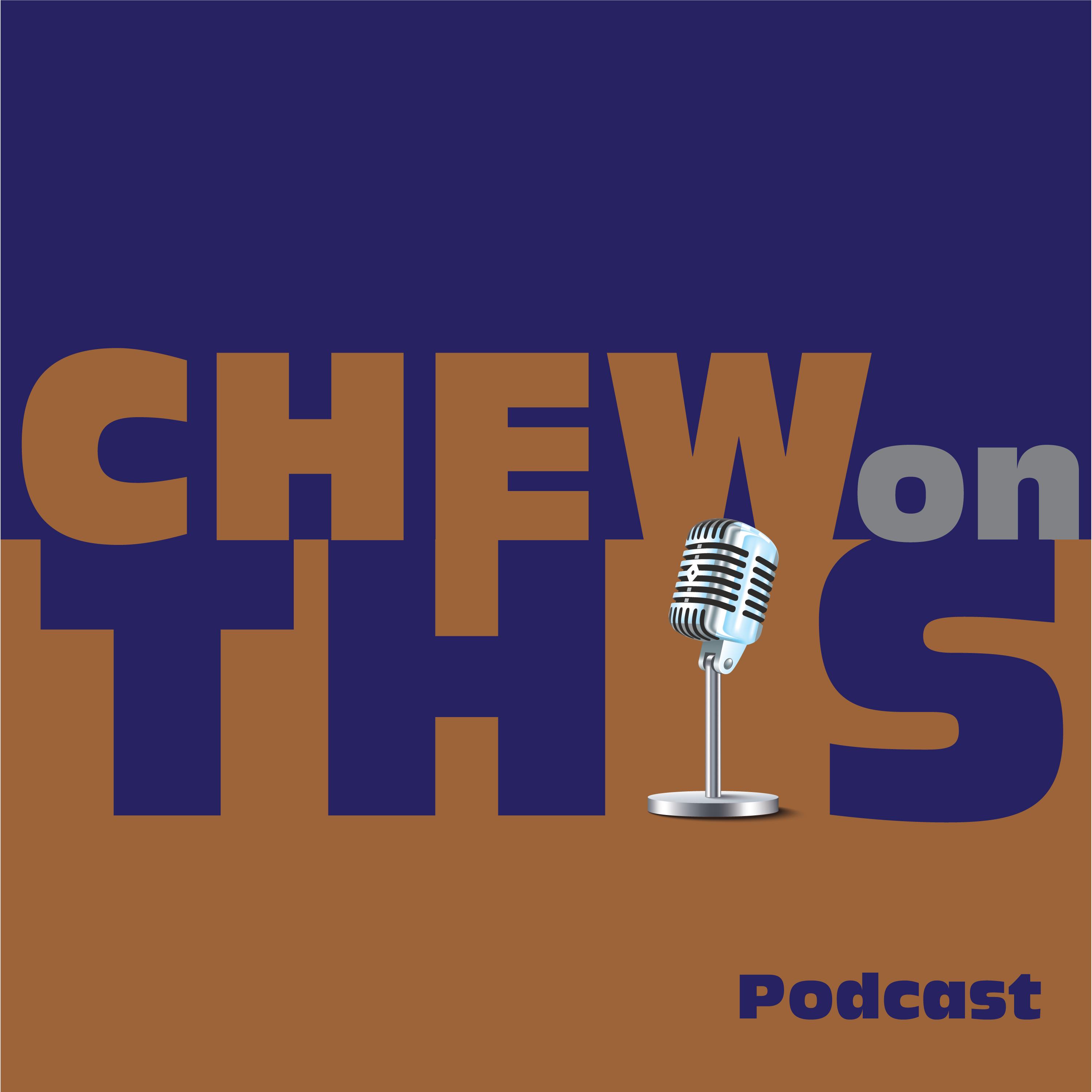 Chew on this: with the Wednesday crew show art