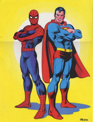 Episode 2 - Superman vs. Spider-man pt2, or Wow That Super Vision Really Comes In Handy