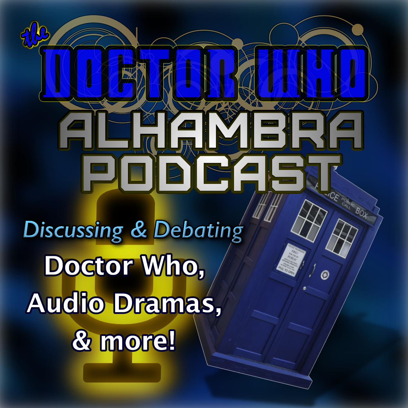 Artwork for EP 115: Doctor Who & BF news and polls discussed & New Sitcom Trailer