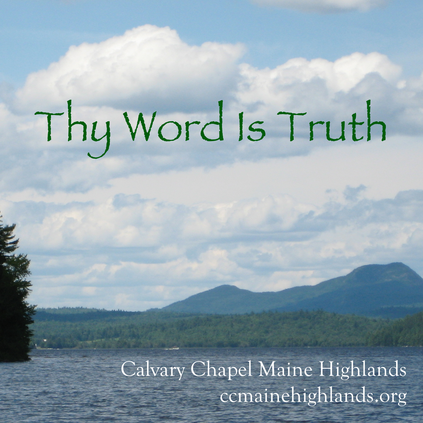Thy Word Is Truth show art
