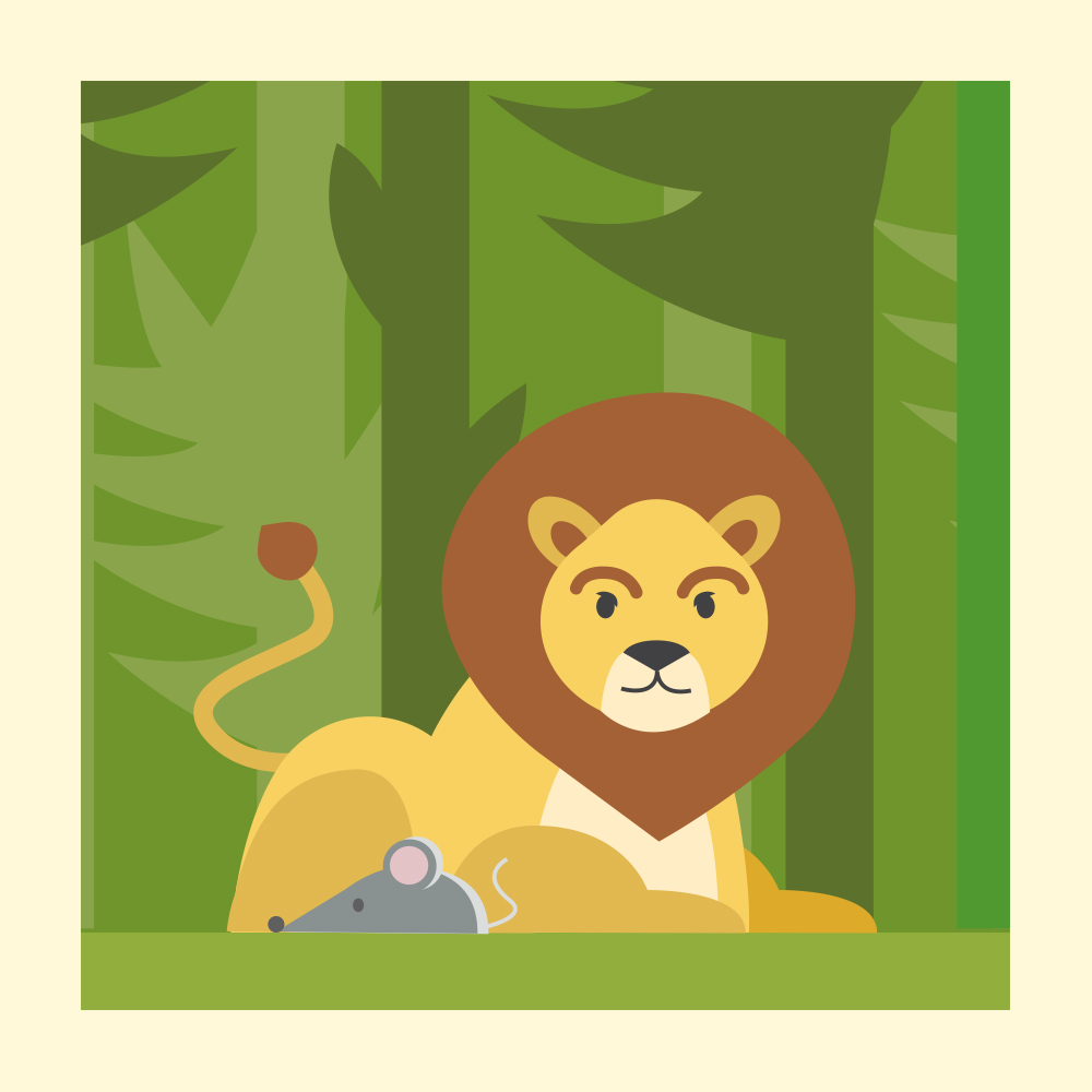 Foster Kindness with Aesop's Fable - Storytelling Podcast for Kids - Lion and Mouse:E32
