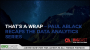 Artwork for That's a Wrap – Paul Ablack Recaps the Data Analytics Series
