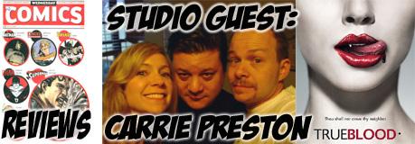 Episode 208 - True Blood's Carrie Preston Returns!