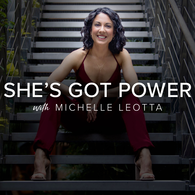 She's Got Power show art