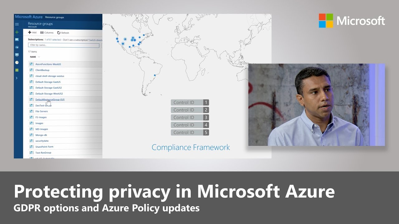 Artwork for Protecting privacy in Microsoft Azure: GDPR, Azure Policy updates