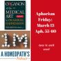 Artwork for Aphorism Fridays: The Organon, 55-60