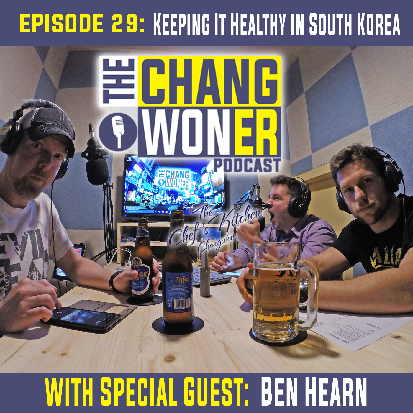 Artwork for Being Diabetic and Keeping It Healthy in South Korea. -guest Ben Hearn (Ep 29)