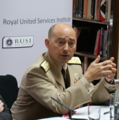Supreme Allied Commander makes debut speech at RUSI