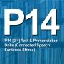 Artwork for P14 [2/4] Test & Pronunciation Drills (Connected Speech, Sentence Stress)
