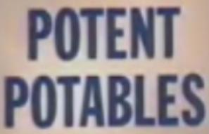 Potent Potables