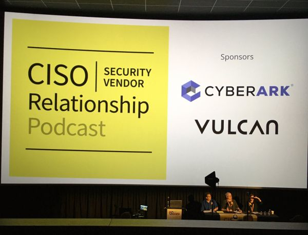 CISO/Security Vendor Relationship Podcast live recording at BsidesSF 2020