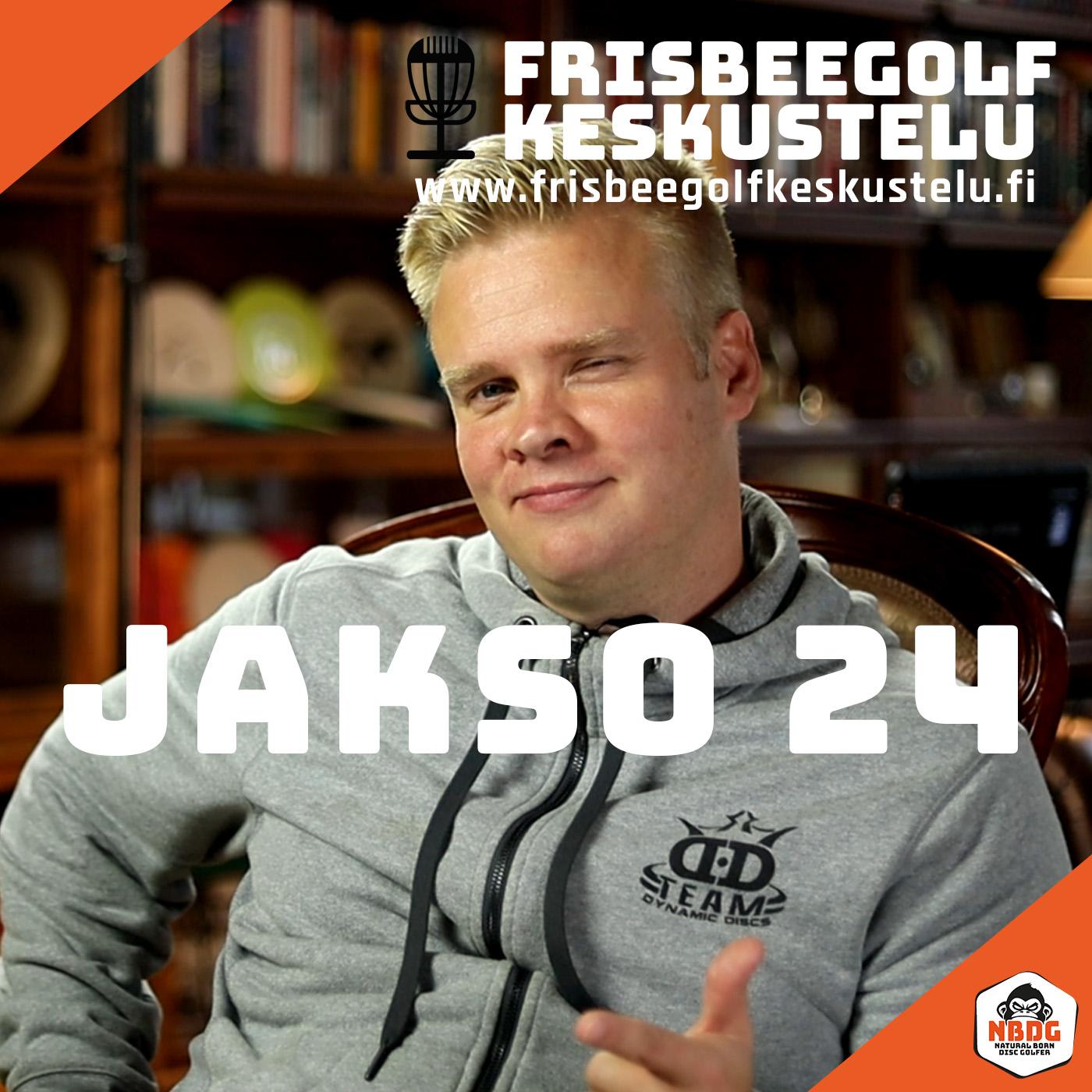 Frisbeegolfkeskustelu jakso #24 - vieraana Janne Hirsimäki