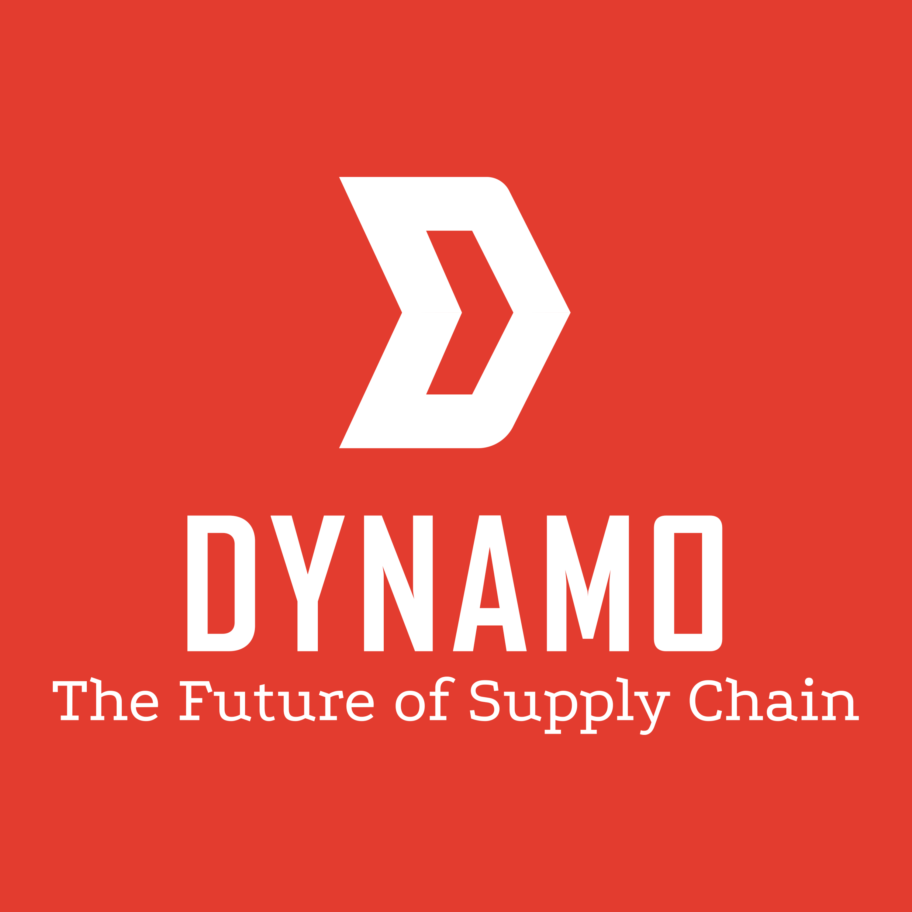 The Future of Supply Chain: a Dynamo Podcast show art