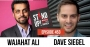 Artwork for Author and Commentator Wajahat Ali & Comedian and TV Producer/writer Dave Siegel Episode 453