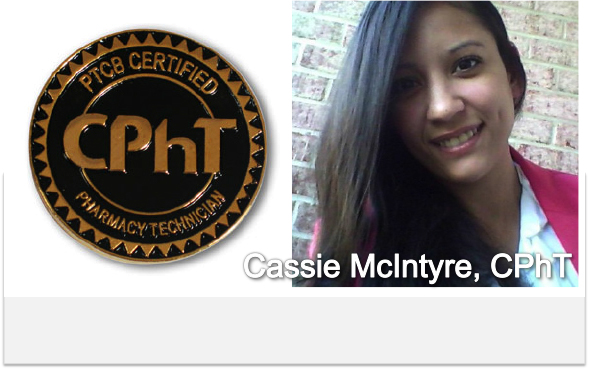 Pharmacy Podcast Episode 112 Certified Pharmacy Technician with Cassie McIntyre, CPhT