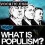 Artwork for Diálogos en inglés sobre la política: el populismo