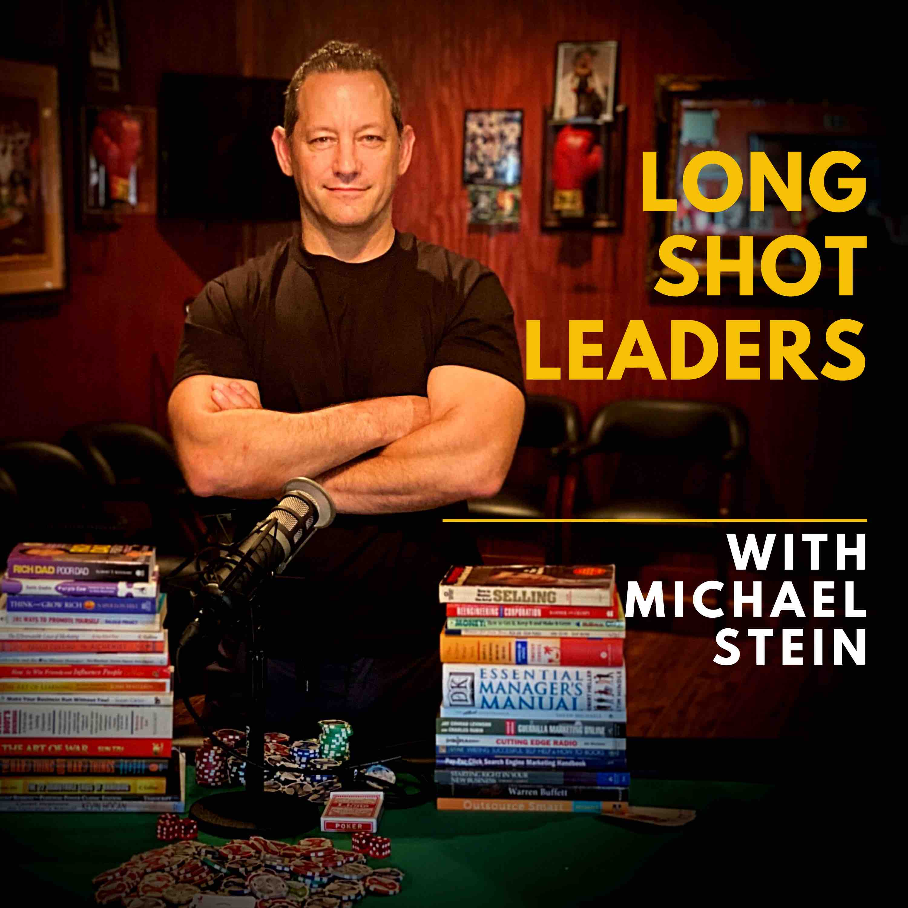 Long Shot Leaders with Michael Stein show art