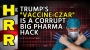 "Artwork for Trump's ""vaccine czar"" is a corrupt Big Pharma HACK"