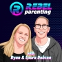 "Artwork for 335 ""Mom's On the Mic"" Raising the Challenging Child with Karen Buckwalter REBEL Parenting"