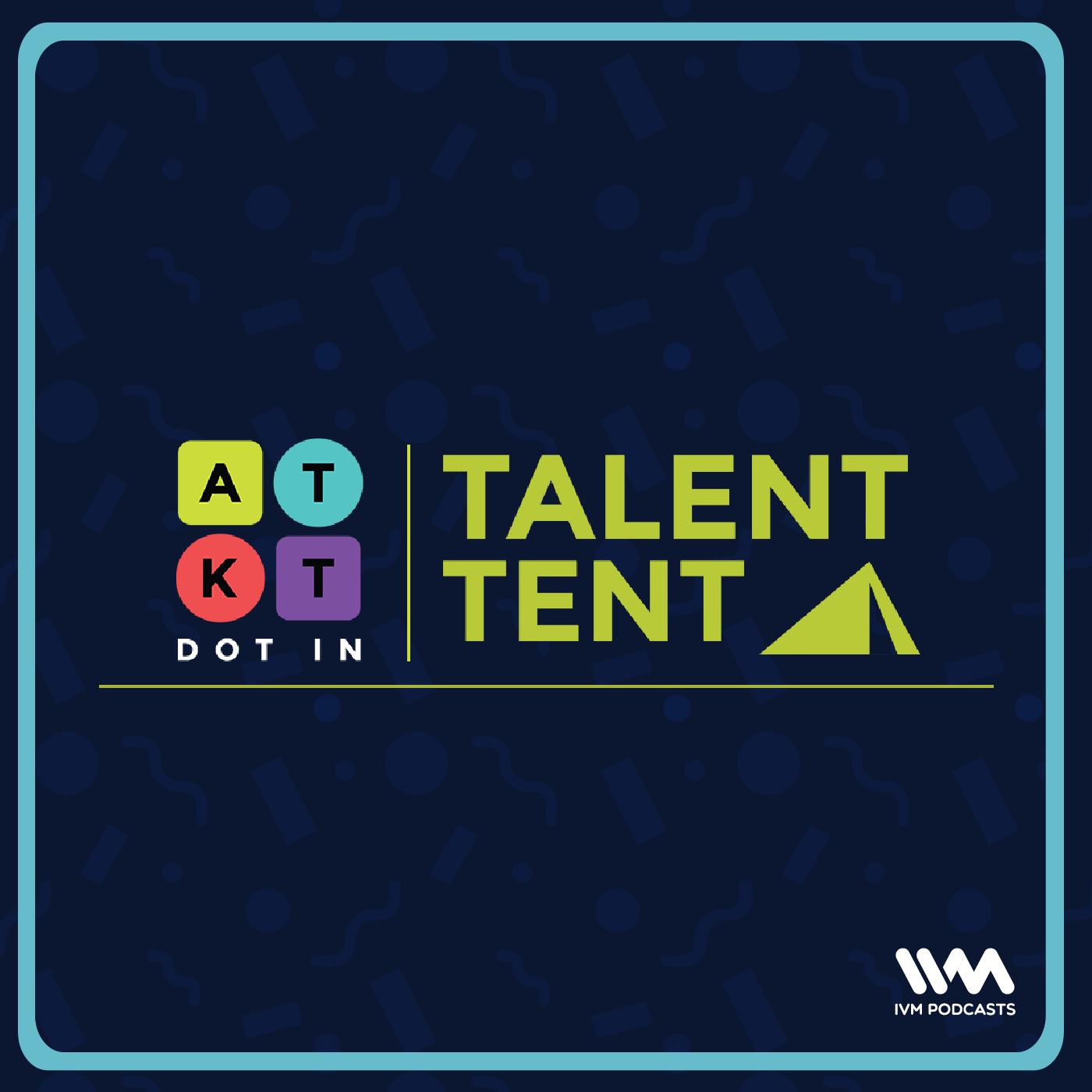 ATKT Talent Tent show art