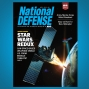 Artwork for April 2019 -  Space-Based Missile Defense, Marine Corps' Robotic Tech and the Navy's New Helicopter