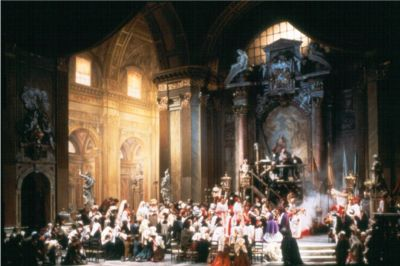 "The ""Te deum"" from Tosca"