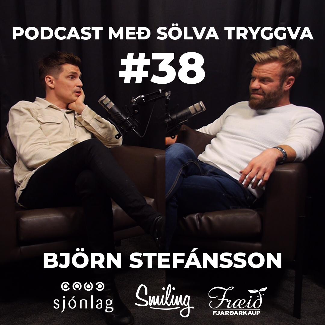 #38 Björn Stefánsson með Sölva Tryggva