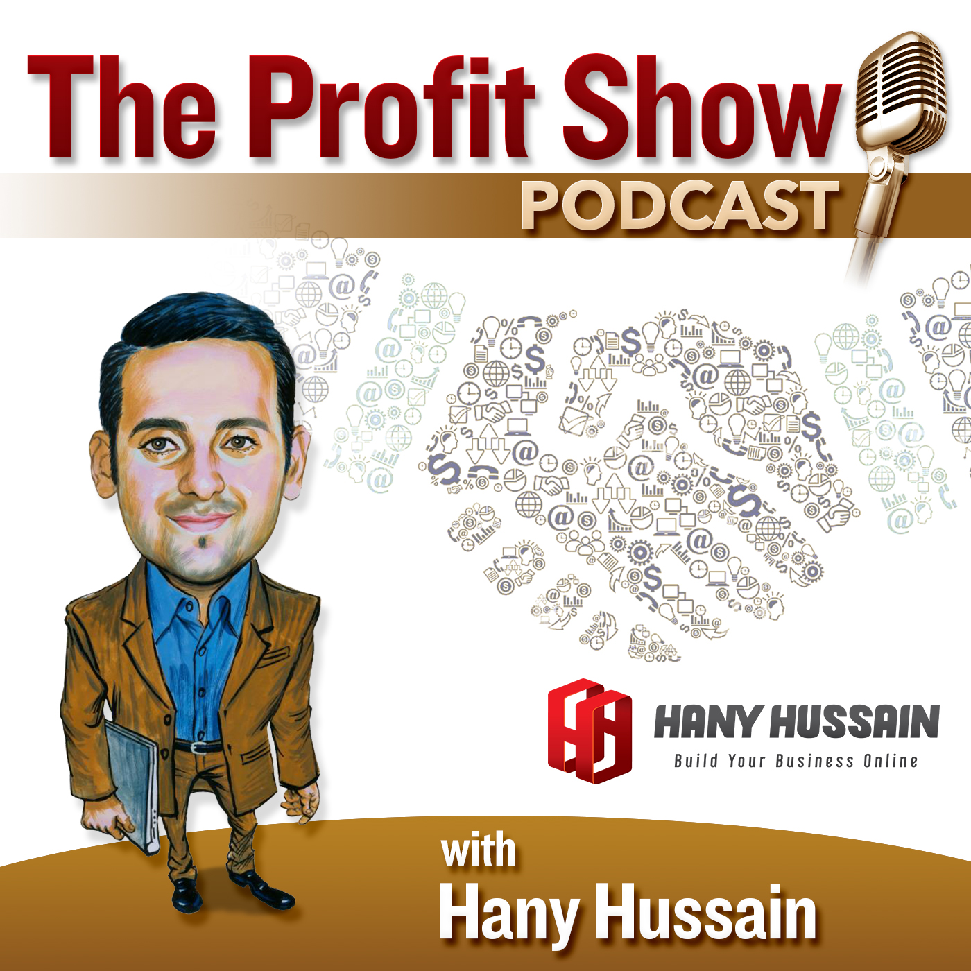 The Profit Show With Hany Hussain show art
