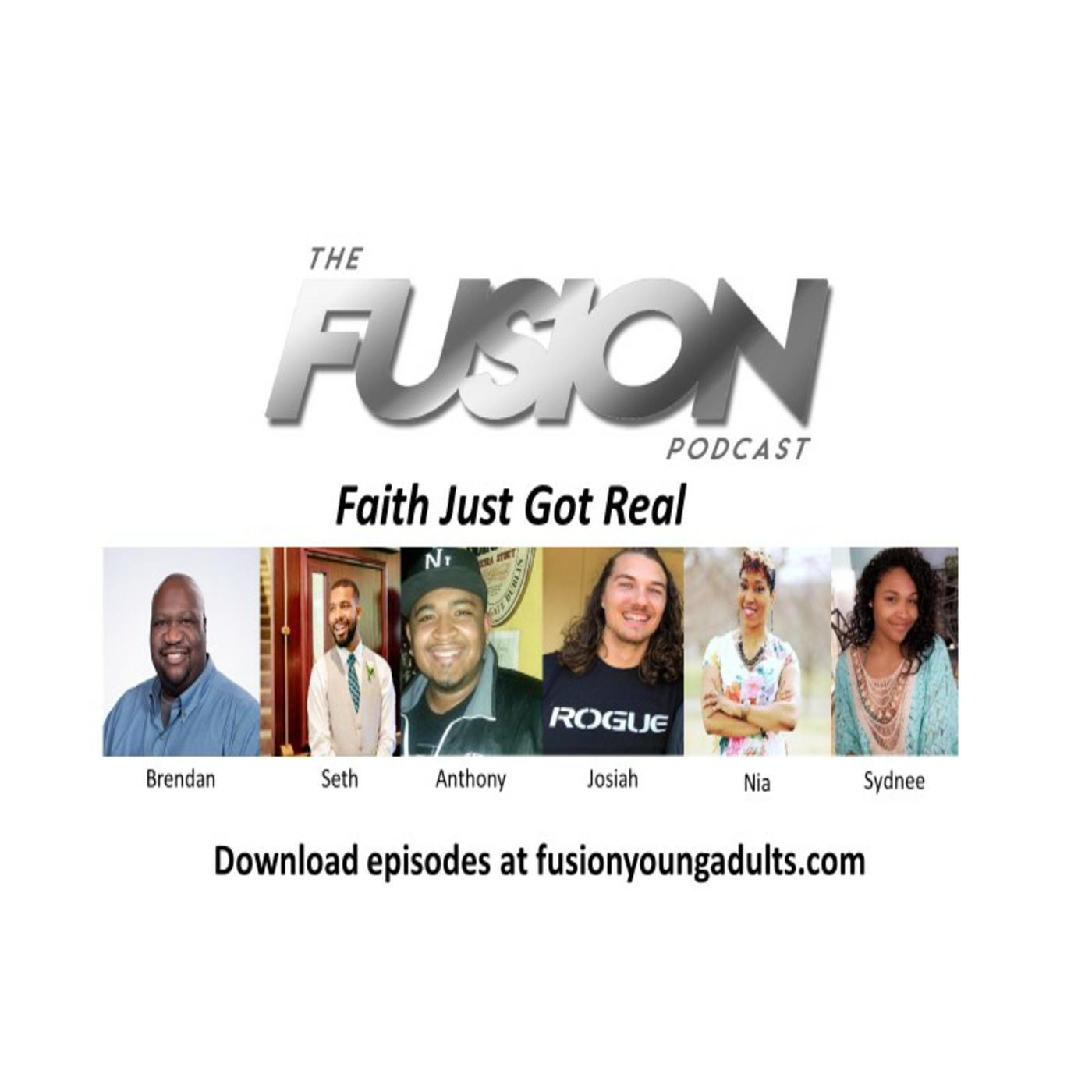 The FUSION Podcast show art
