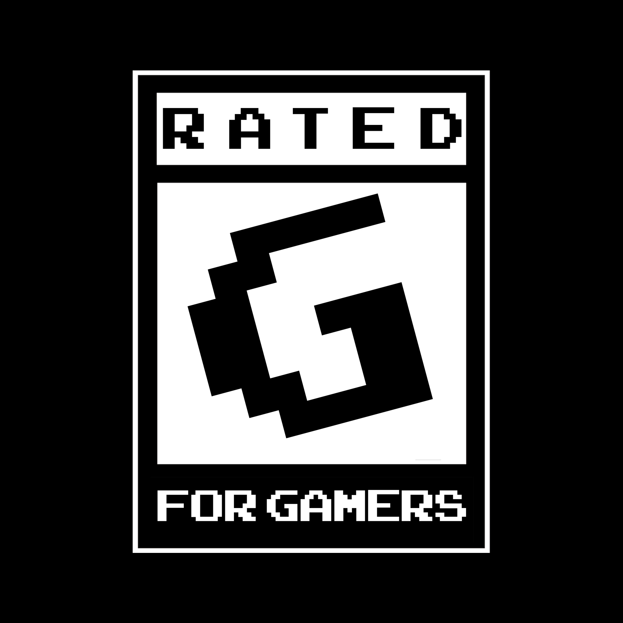 Rated G for Gamers show art