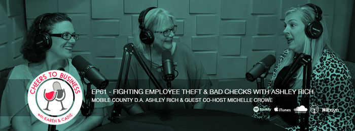 D.A Ashley Rich on the Cheers To Business Podcast
