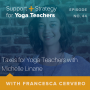 Artwork for 44: Taxes for Yoga Teachers with Michelle Linane