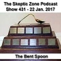 Artwork for The Skeptic Zone #431 - 22.Jan.2017