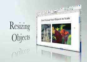Resize Objects in InDesign the Right Way