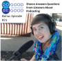Artwork for #21 Sharon Answers Questions from Listeners About Podcasting