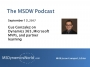 Artwork for MSDW Podcast: Gus Gonzalez on delivering Microsoft Dynamics 365/CRM success