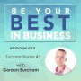 Artwork for EP023 – Success Stories #3 with Gordon Burcham