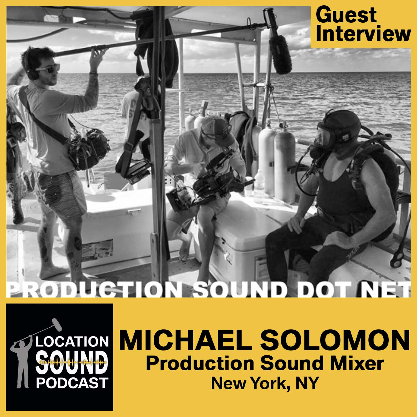 064 Michael Solomon - Production Sound Mixer based out of New York City