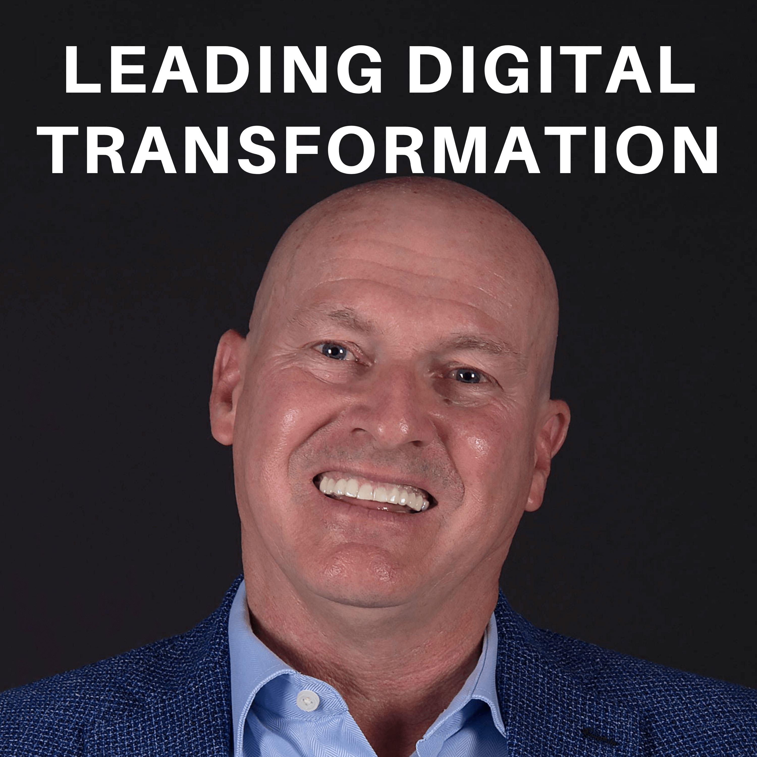 Leading Digital Transformation show art