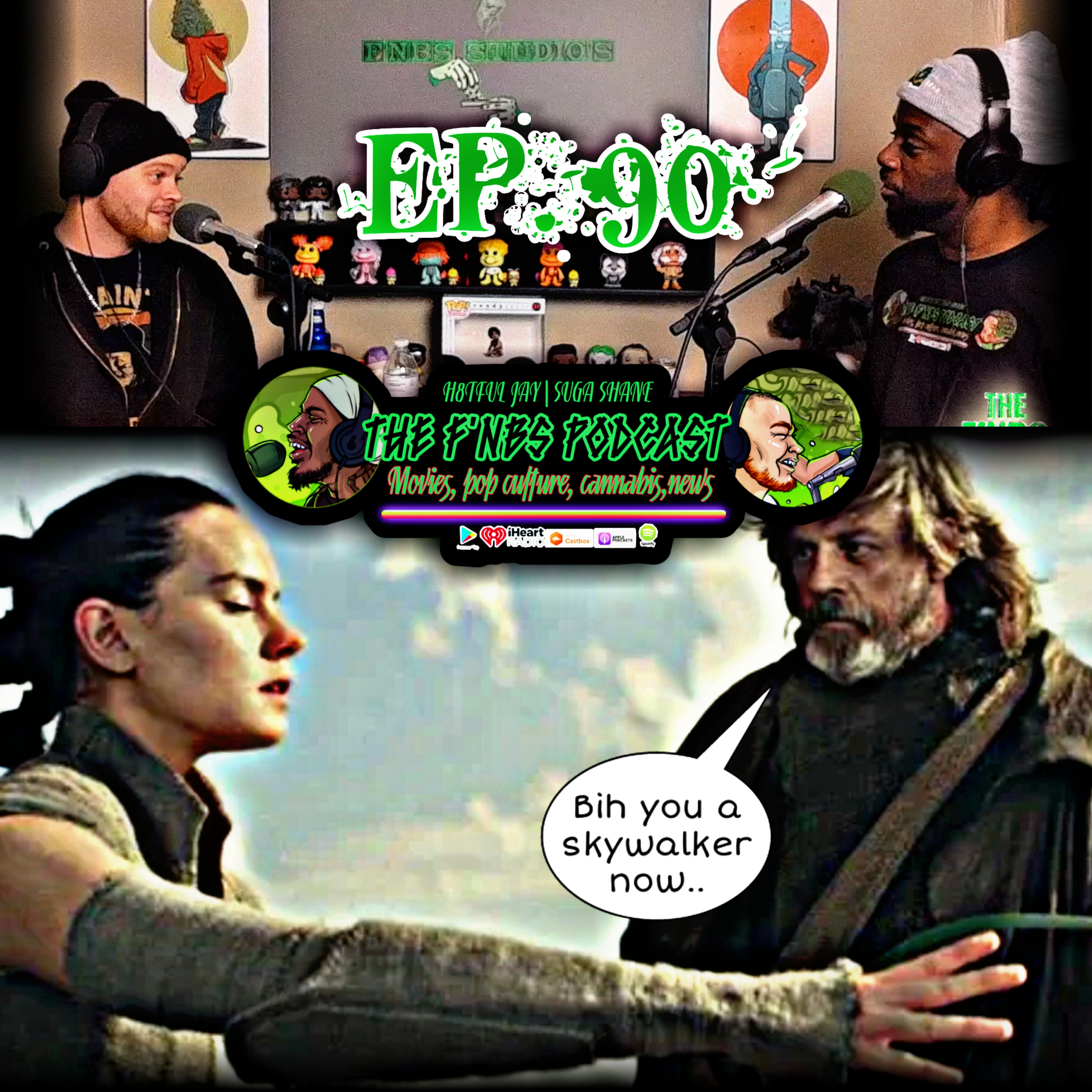 """Artwork for THE F'NBS PODCAST EP. 90