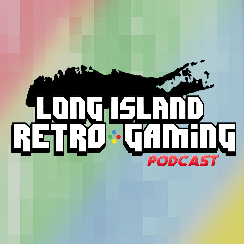 Long Island Retro Gaming Podcast show art
