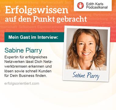 104 - Im Gespräch mit Sabine Piarry