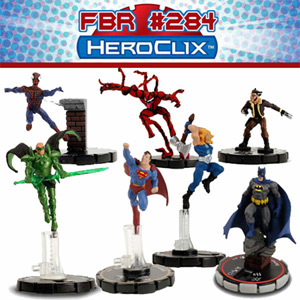 Fanboy Radio #284 - Hero Clix and Open Lines LIVE