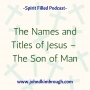 Artwork for The Names and Titles of Jesus –  The Son of Man Episode 100