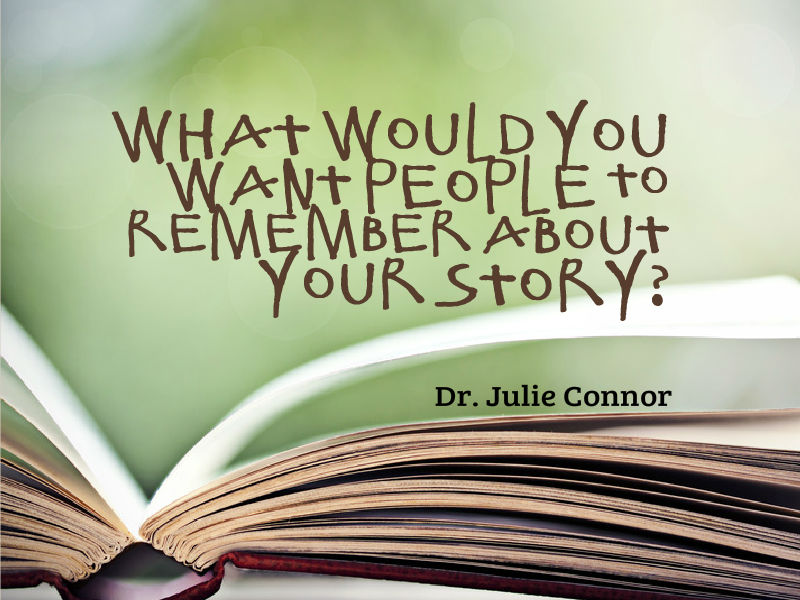 """The POWER of a Purpose Statement"" with Dr. Julie Connor"