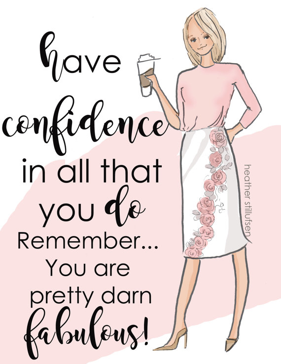 Have confidence in yourself in your SeneGence Business