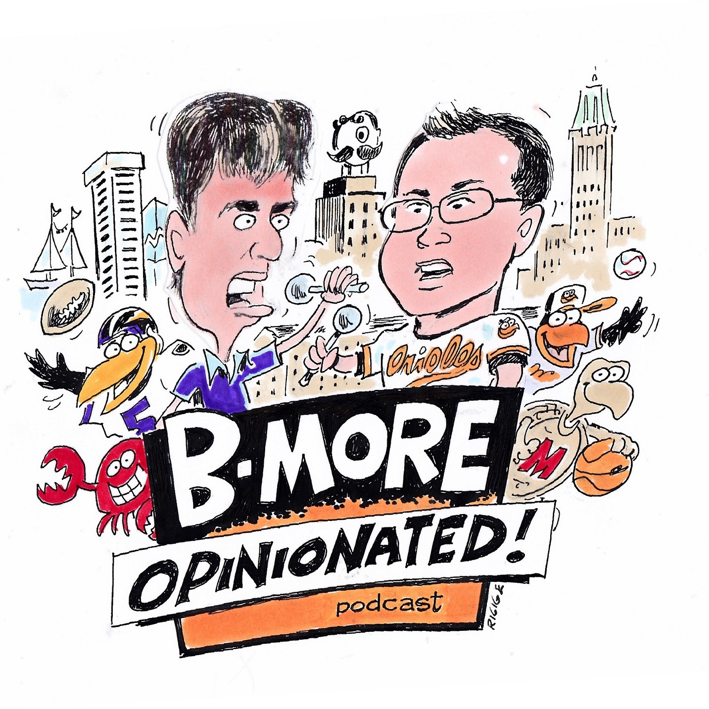 Artwork for Previewing the Trade Deadline with Dan O'Dowd, plus catching up with our old friend Justin Tucker hon!