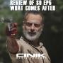 "Artwork for EP 91: The Walking Dead Season 9 Episode 5 ""What Comes After"" Rick Grimes Final Episode"